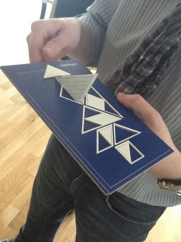Tangram Kommunikation in 3D erfordert Geschick