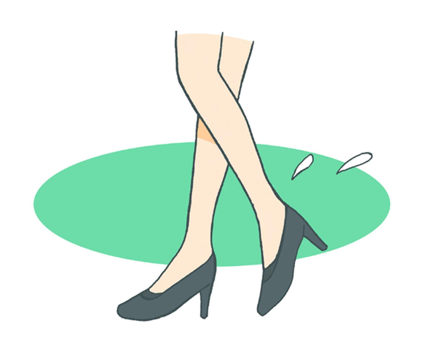 忙しい毎日、あちこち歩き回ったり、立ちっぱなしで足はムレやすい…