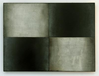 """""""Q4-1"""", 22,5 x 30 cm, Mischtechnik auf Holz, 2014"""
