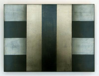 """""""Hildegard"""", 22,5 x 30 cm, Mischtechnik auf Holz, 2014"""
