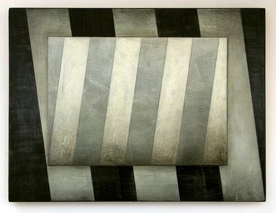 (fading memory), Mischtechnik/Holz, 22,5 x 30 cm, 2014