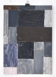 Sasha Pichushkin, Collage_17, Mischtechnik auf Papier, 30 x 42 cm, Galerie SEHR Koblenz