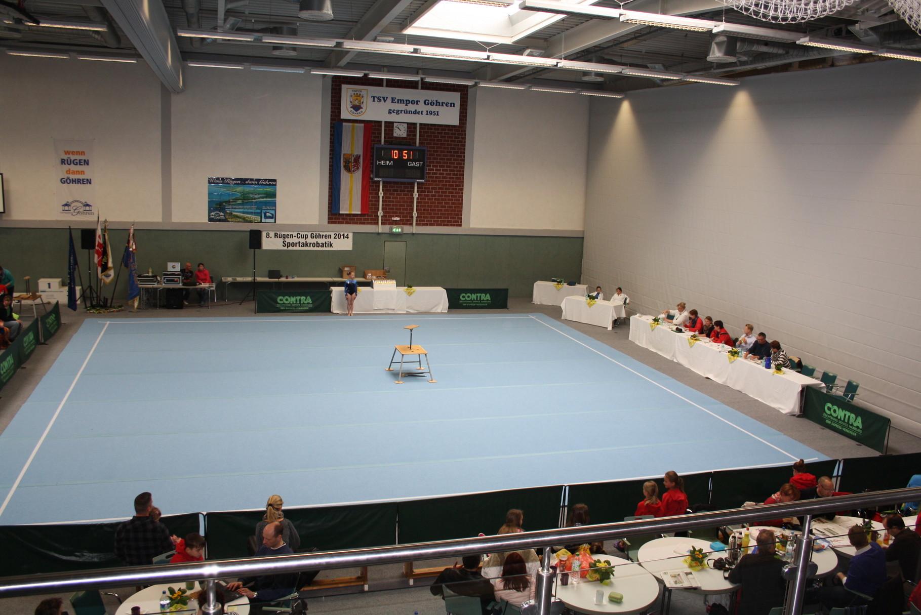 Der Wettkampfboden