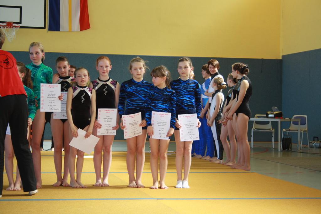 Siegerehrung - Platz 6 Dreier Gruppe