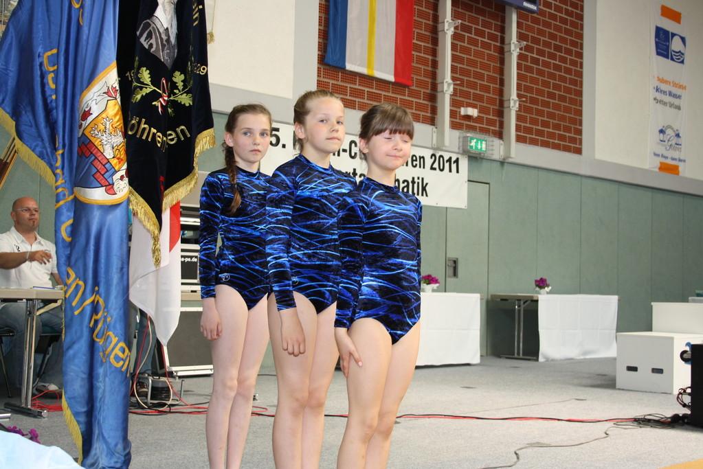 Sarah Tilly, Charlotte Schmidt & Emmely Friedrichs W3 LK D 9. Platz