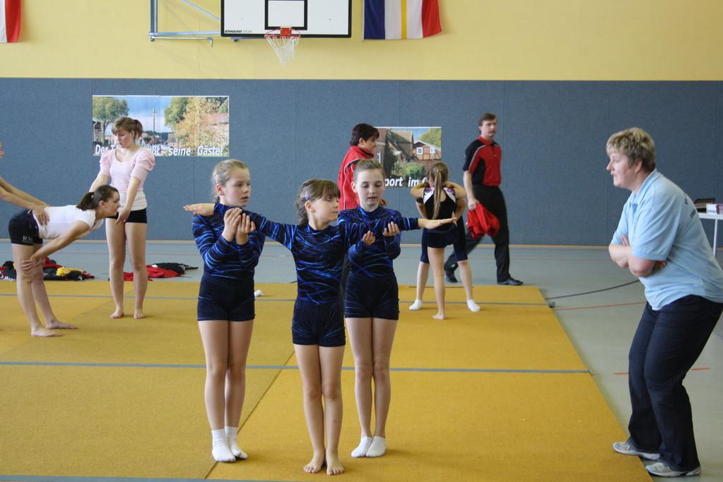 3-Gruppe wbl. Sarah Tilly, Charlotte Schmidt & Emmelie Friedrichs