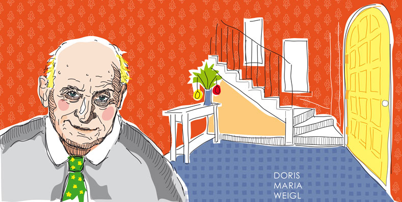 Großvater - Vektorgrafik - Illustrationen Doris Maria Weigl / Menschen
