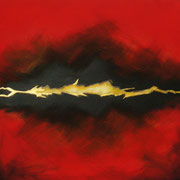 """Feuer"" - Acryl auf Leinen - Doris Maria Weigl / Art"