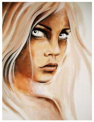 """Emotion"" - Acryl auf Leinen - 60x60cm - Doris Maria Weigl / Art"