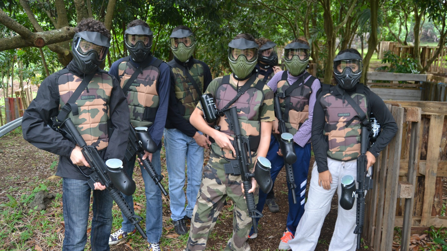 Paintball reunion