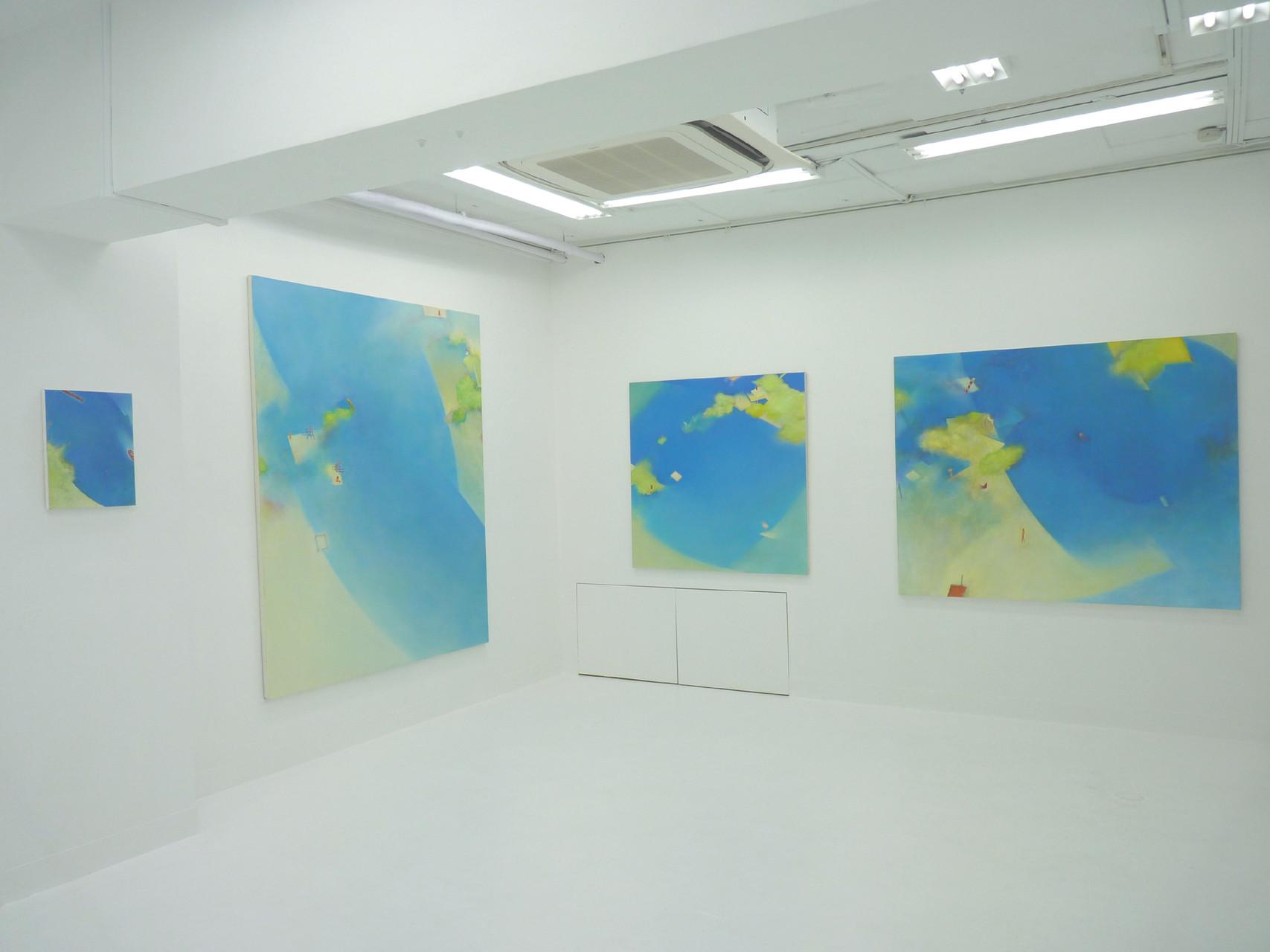 個展「水辺のかたち」2014.4.21〜4.26 GALERIE SOL