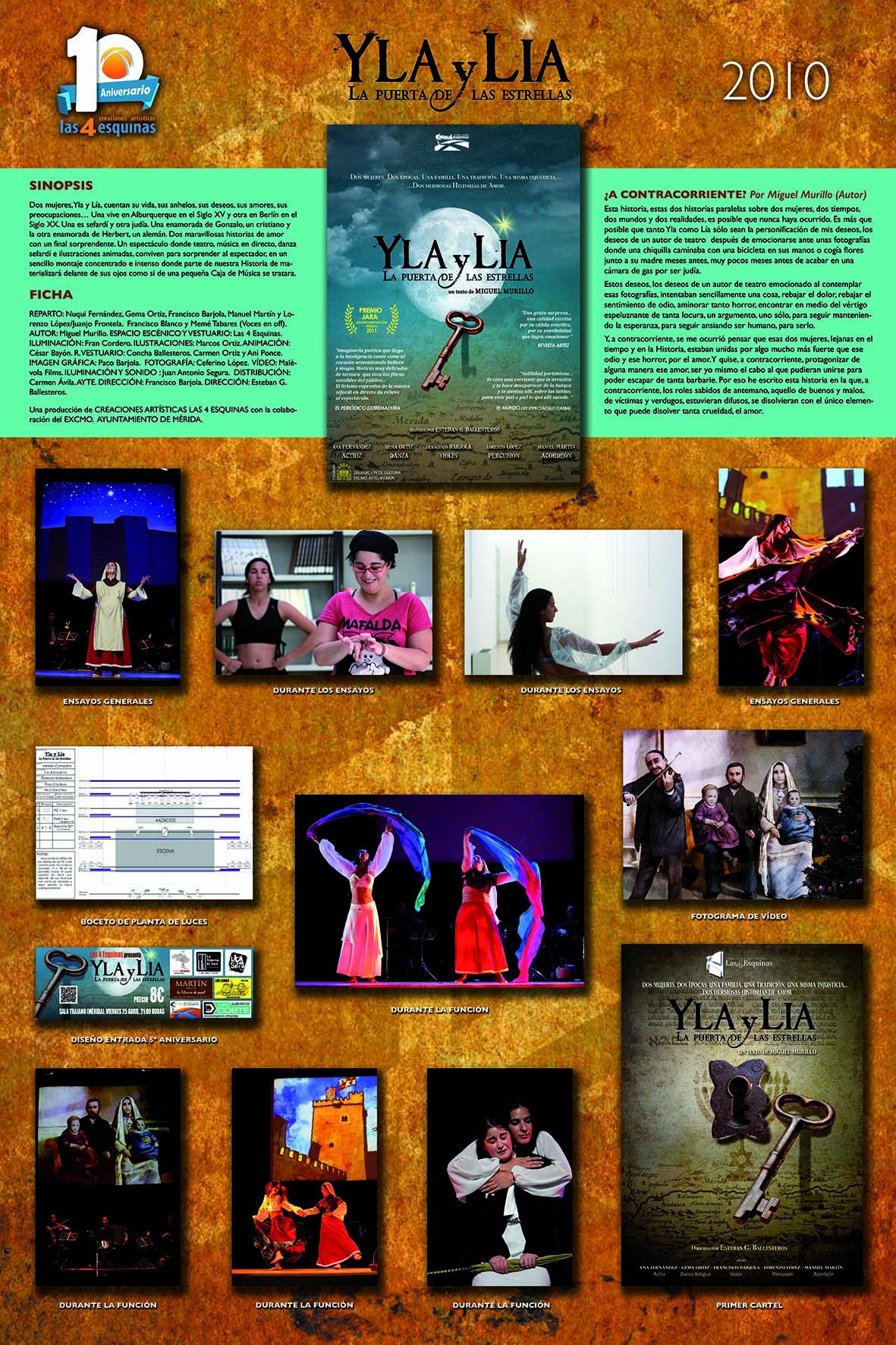YLA Y LÍA. LA PUERTA DE LAS ESTRELLAS (2010)