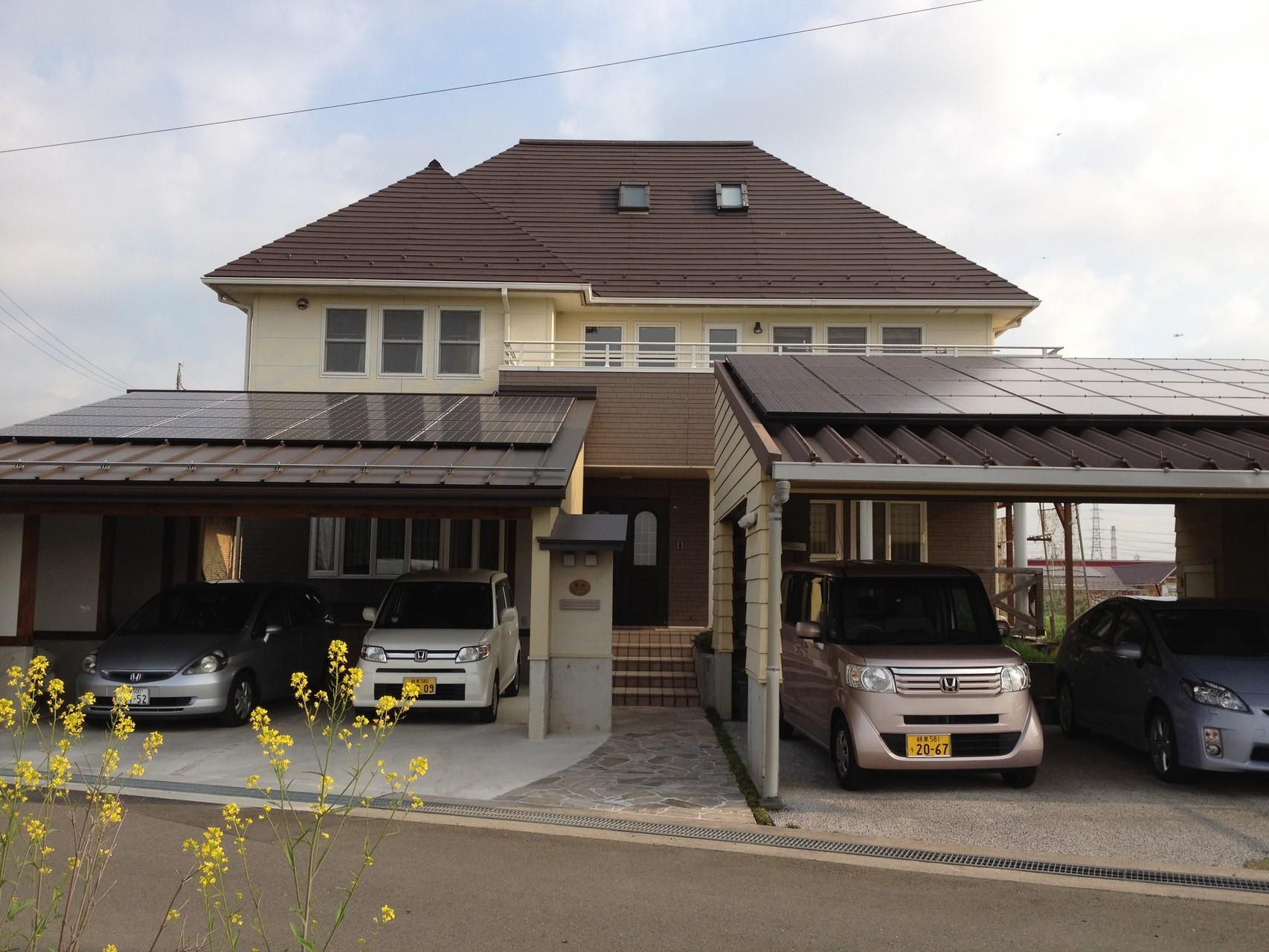 アキレス外張り外断熱の高断熱高気密で、岐阜県瑞穂市にあるショールーム