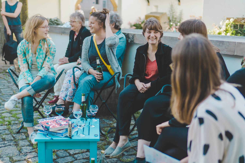 Presentation of our project . (Kunstverein Bielefeld 2019 / photo Marina Arndt)