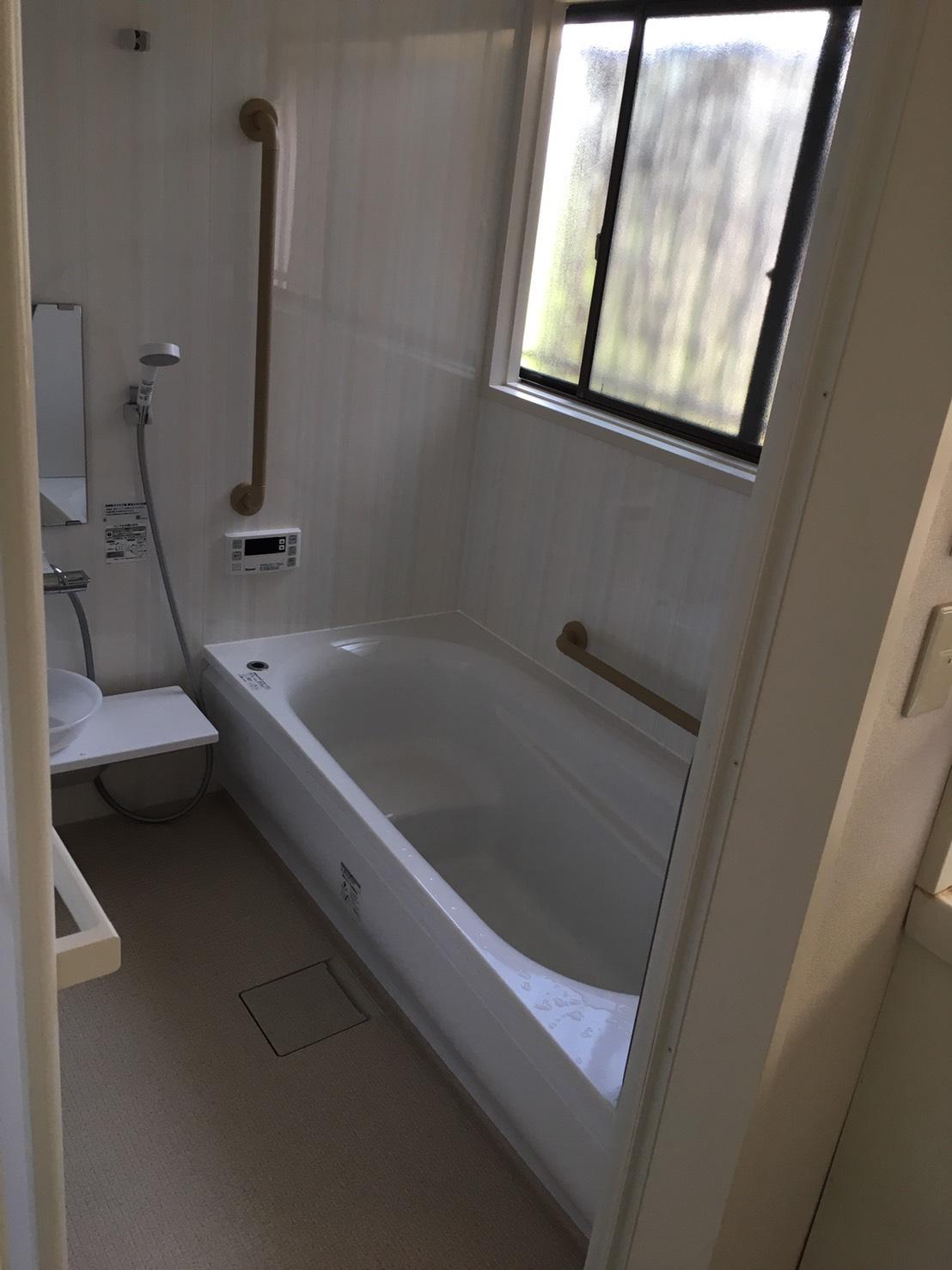 施工後のお風呂(2)