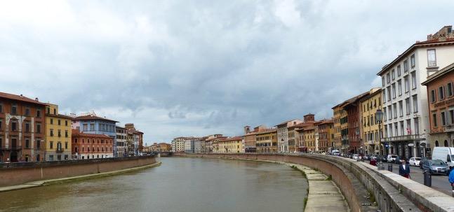 Arno von der Ponte di Mezzo