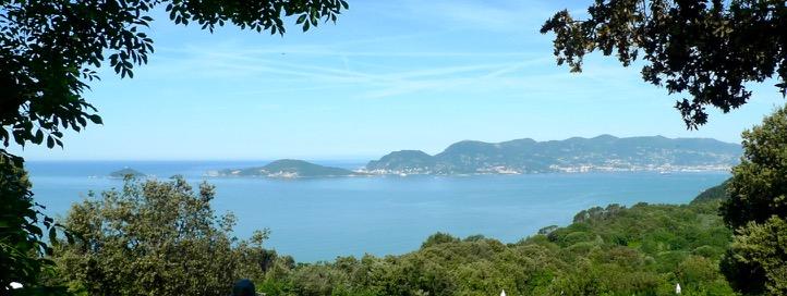 Blick auf den Golf der Dichter (Golfo di Poeti)