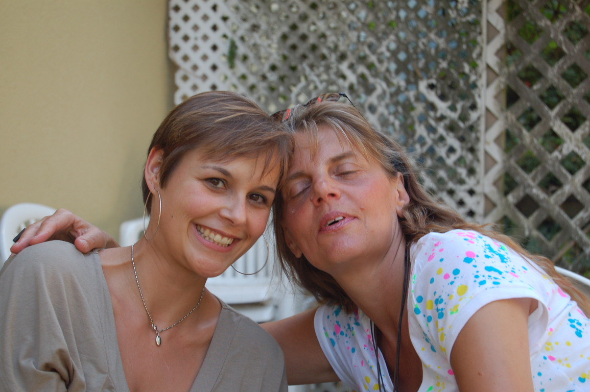 VANESSA UND BEA IM SOMMER 2008