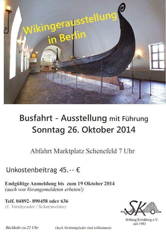 Bild:Wikingerausstellung in Berlin