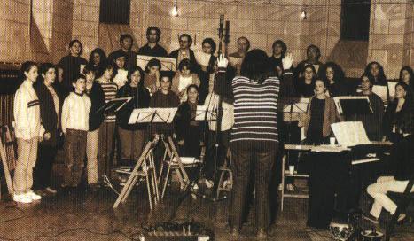 Lehen diskoaren grabaketa 1997