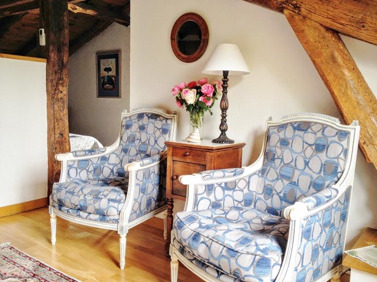 chambre Patawa, petit salon