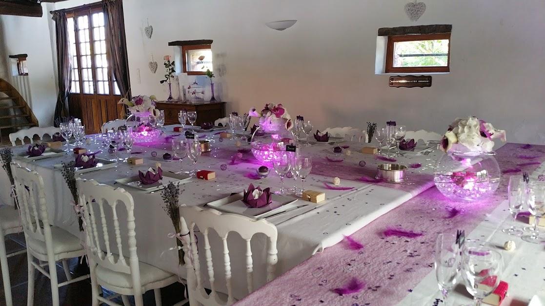 Domaine de Millox, table mariage en forme de T
