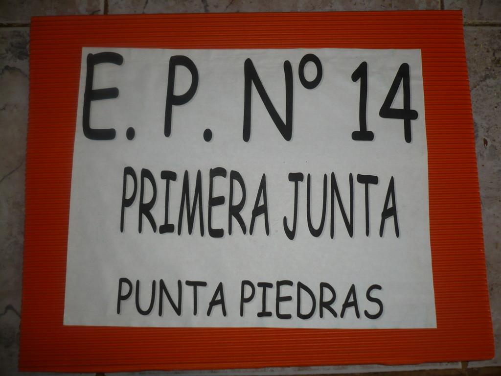 "Escuela Primaria Nº14 "" Primera Junta"""