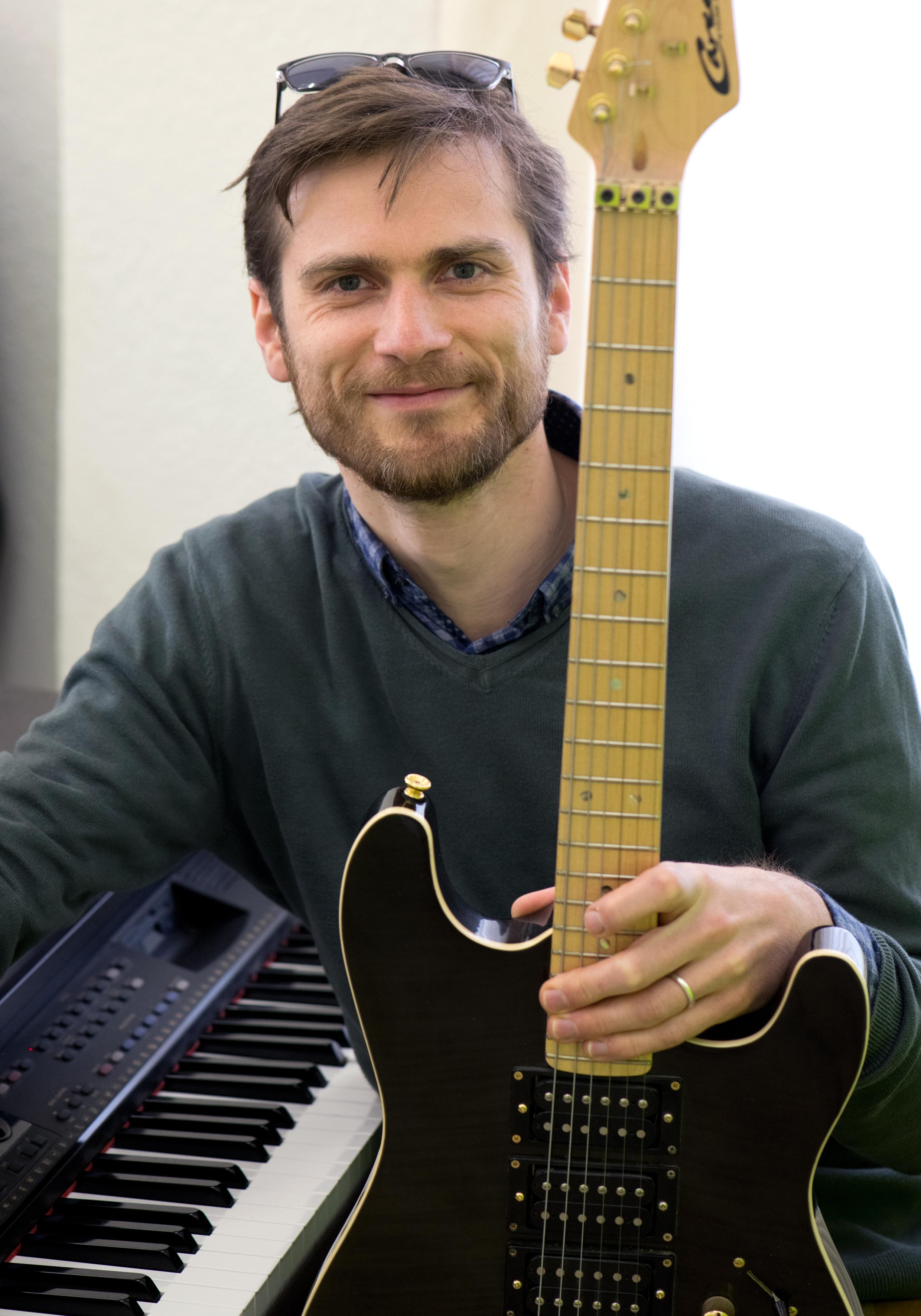 Jonathan leitet die Musikschule Lüneburg