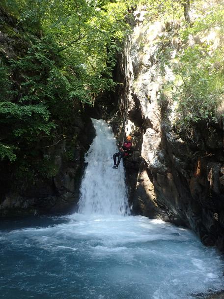 Canyon du Saugué supérieur