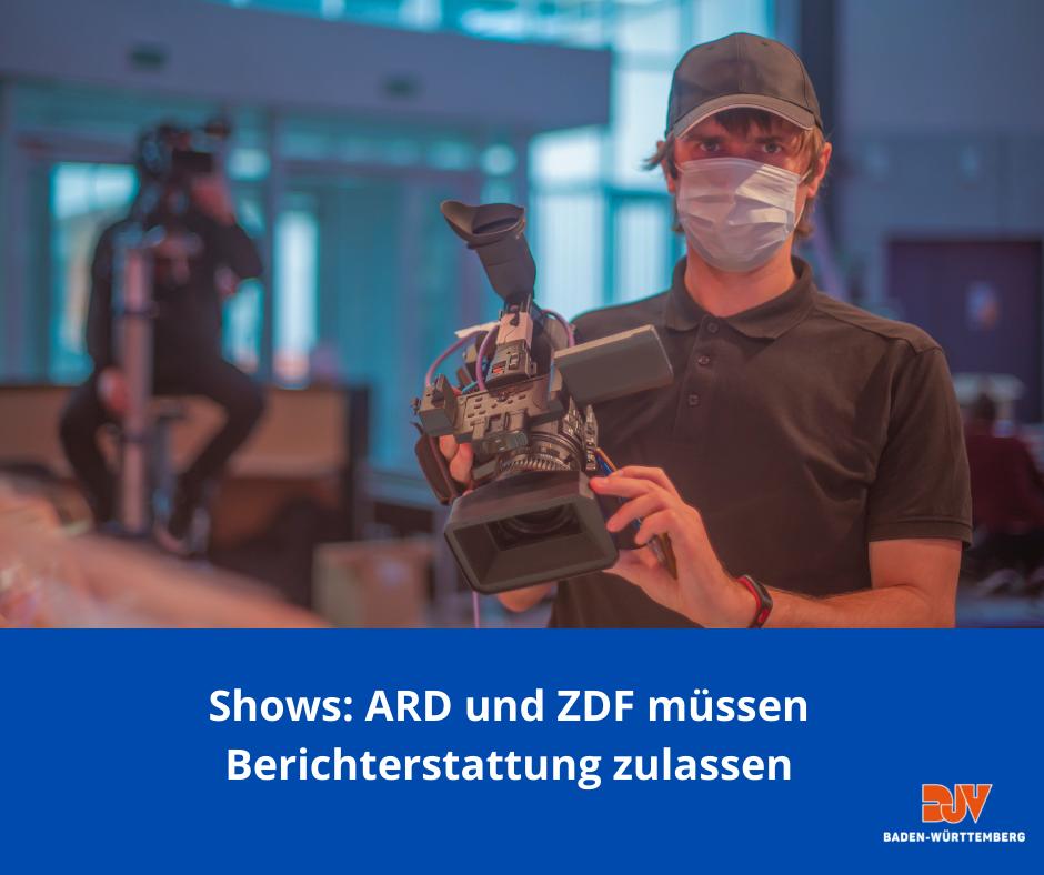TV-Shows: ARD und ZDF müssen Berichterstattung wieder zulassen