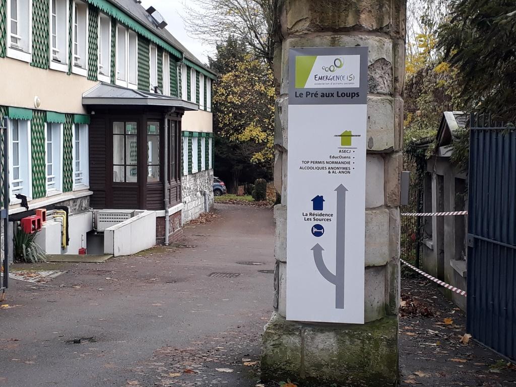 entrée Rive Droite Rouen