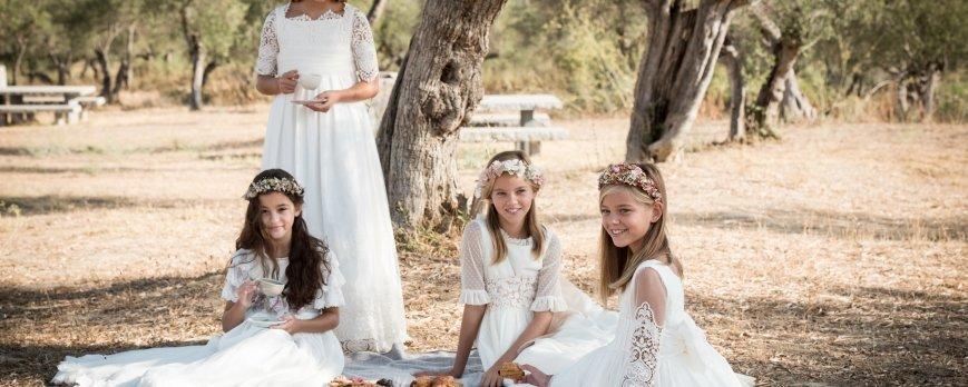Trajes y vestidos de comuniones