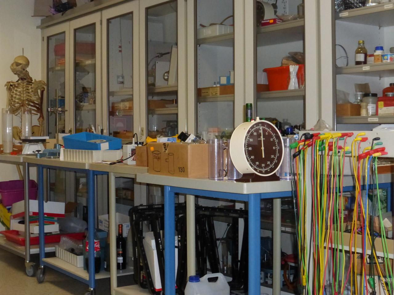 Vorbereitungsraum Naturwissenschaften