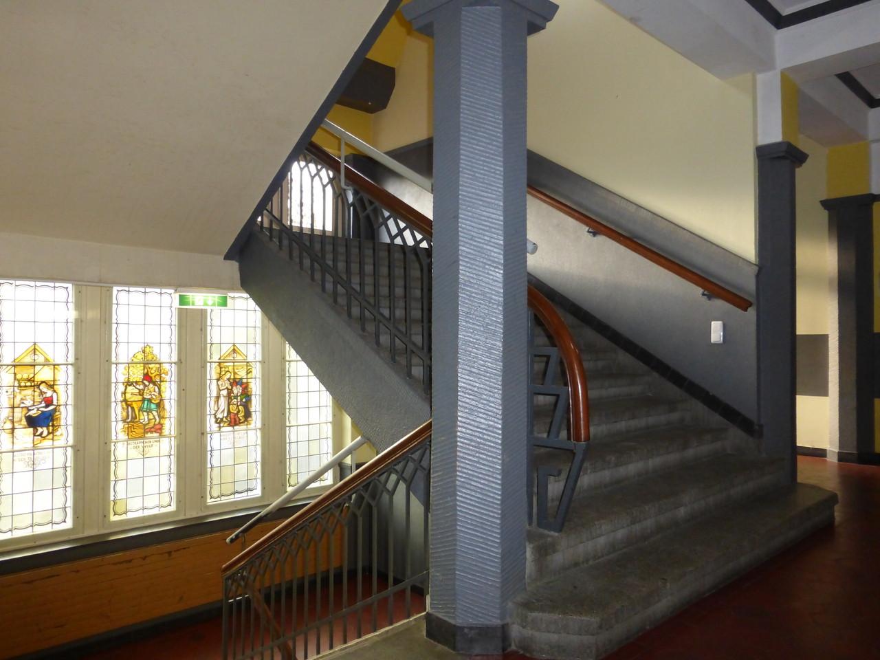 Treppenaufgang im Altbau