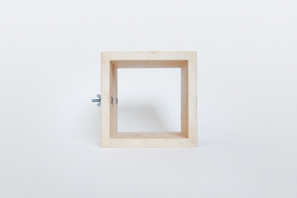http://www.whiskingwoodworks.com/Hanging-Square-Tunnel