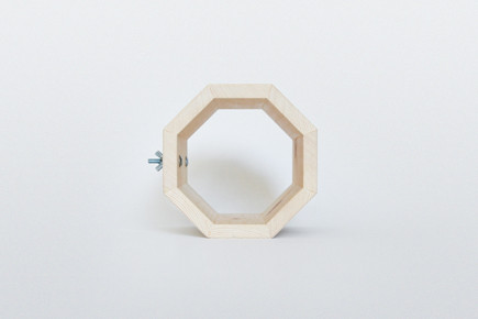 http://www.whiskingwoodworks.com/Hanging-Octagonal-Tunnel