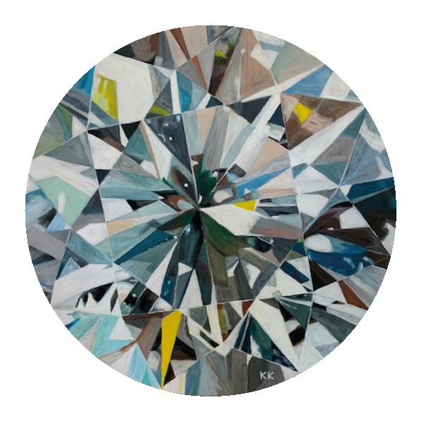 Brilliant -80 cm Durchmesser, Acryl
