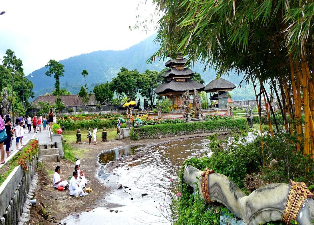 Tempel Ulun Danu Bratan - Tempel & WasserfallTour