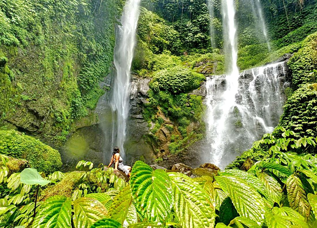 Sekumpul Wasserfall - Tempel & WasserfallTour