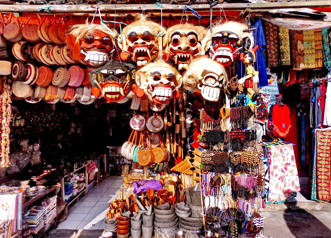 Markt Bedugul - Tempel & WasserfallTour