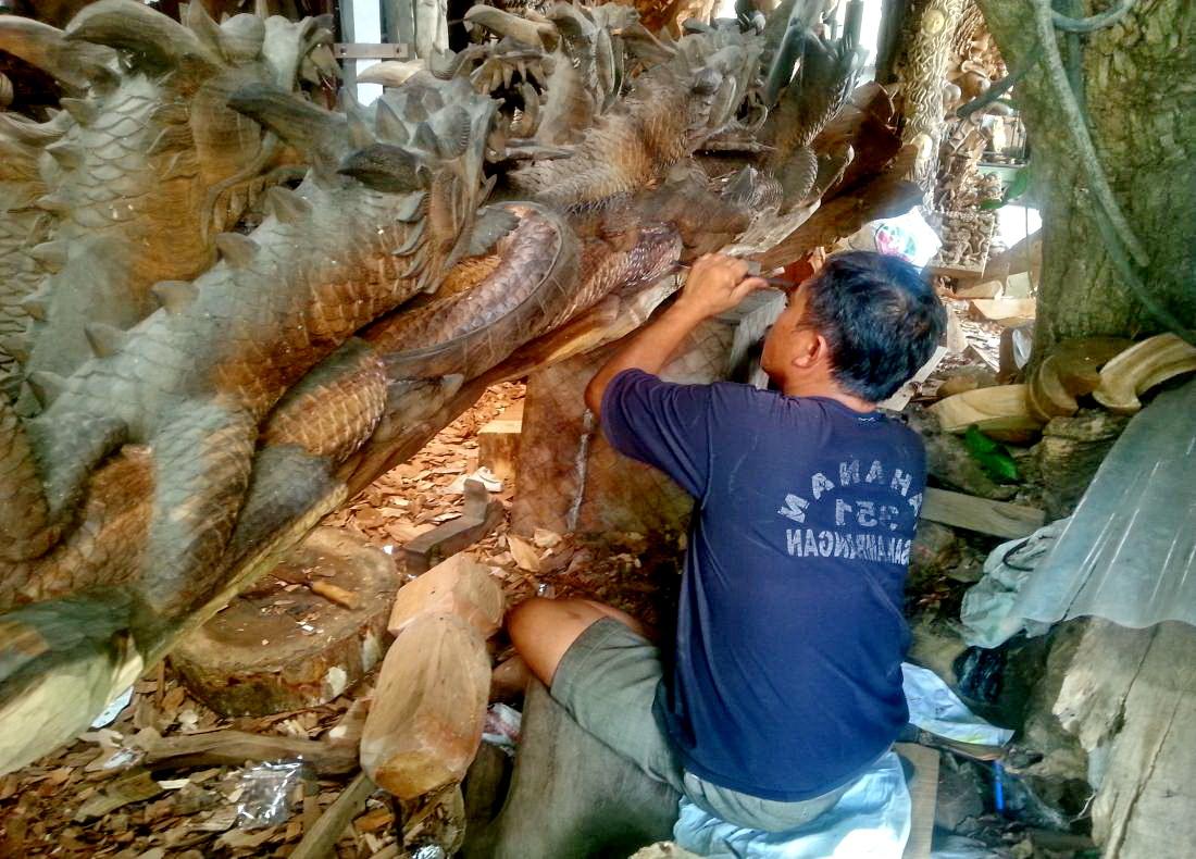 Kunst auf Bali