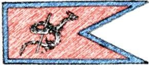 Die Flagge von Euth