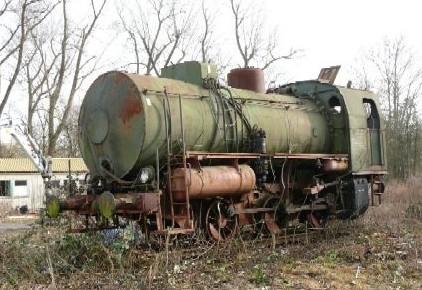 LKM 146035/1953 bis 2009 auf dem Luig-Areal