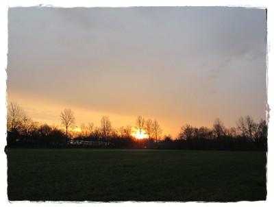 Wunderschöne Sonnenaufgänge an den letzten beiden Tagen des Jahres