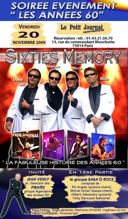 SISTIES MEMORYS