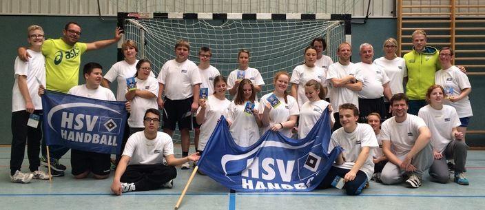 Trainingslager mit dem HSV Hanball 2015