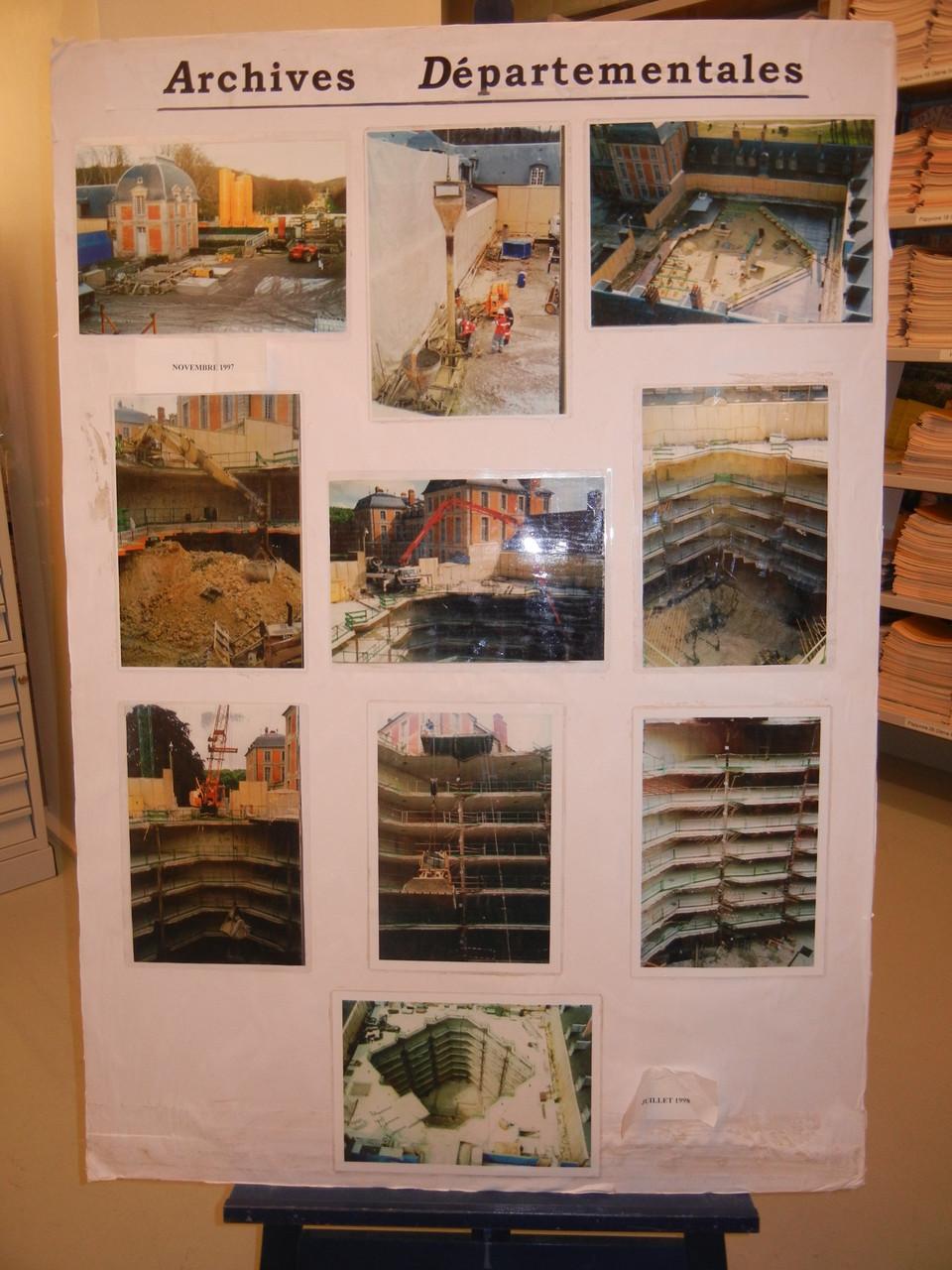 la construction des zones de stokage