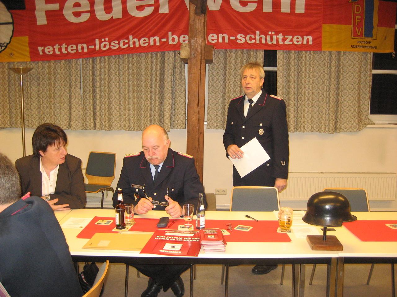 Vortrag Ortsbrandmeister
