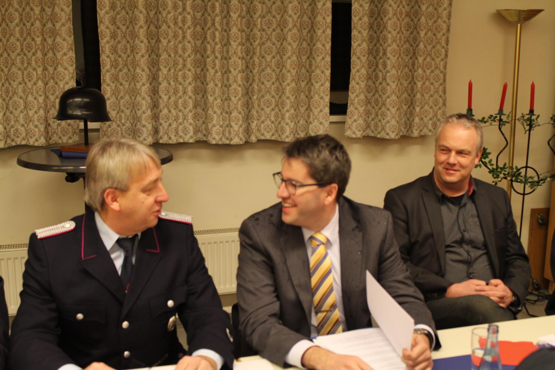 v.l. OBM R.Becker , Oberbürgermeister von Goslar  Herr Dr. Oliver Junk , Stadt GS Fachreferat O. & S. Herr T. Meißner