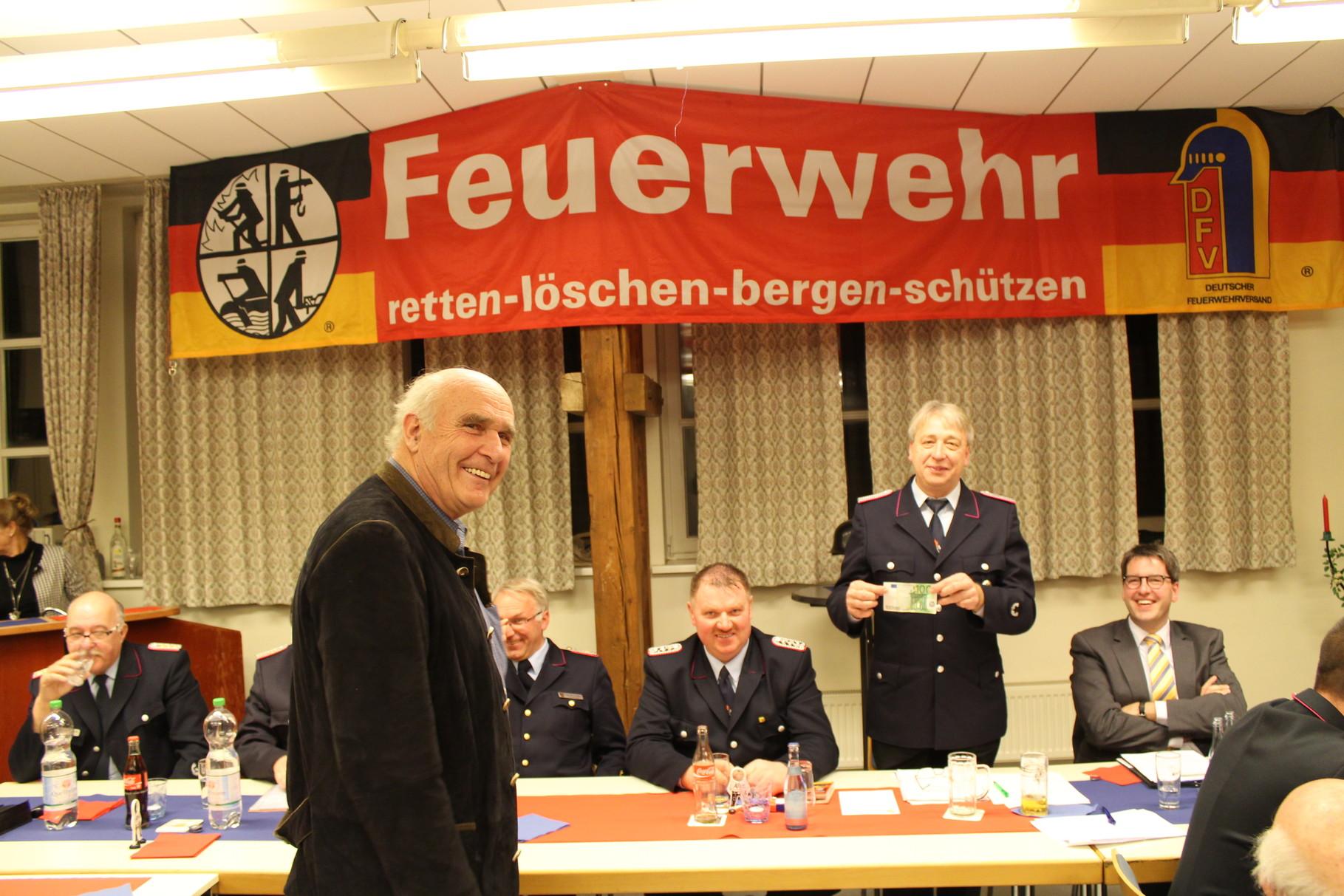 Vorsitzender Forst und Realgemeinde Herr Baron von König